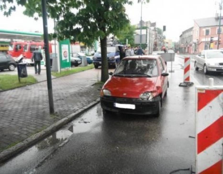 Straż pożarna w Lublińcu interweniowała w wypadkach