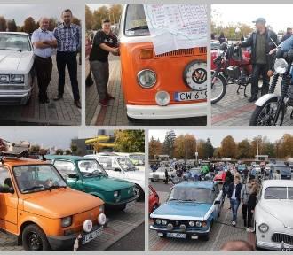Spotkanie klasyków czyli samochody zabytkowe i wieloletnie pod Halą Mistrzów we Włocławku [zdjęcia]