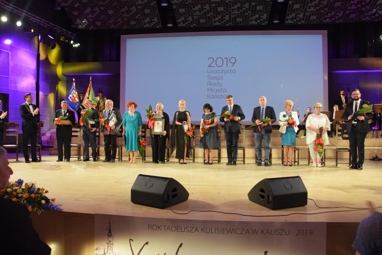 Święto Miasta Kalisza 2019. Uroczysta sesja Rady Miasta Kalisza w auli WP-A UAM w Kaliszu