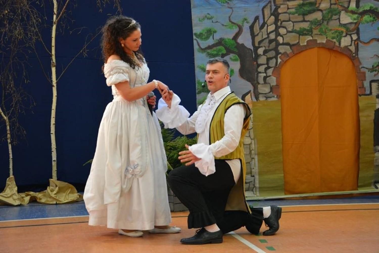 Spektakl teatralny w Goszczu