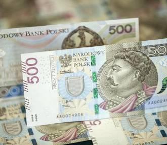 Banknoty o nominale 500 zł trafiły do bankomatów!