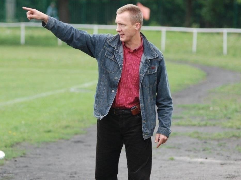 Trener BKSu Naprzód Brwinów - Piotr Makijenko