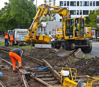 Wrocław. Torowisko na al. Hallera czeka kolejny remont. Zobaczcie, co się zmieni