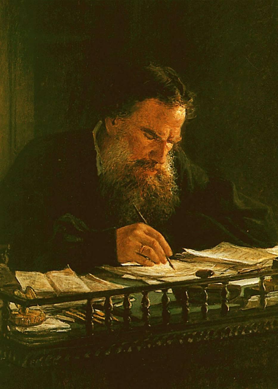 Portrait of Leo Tolstoy