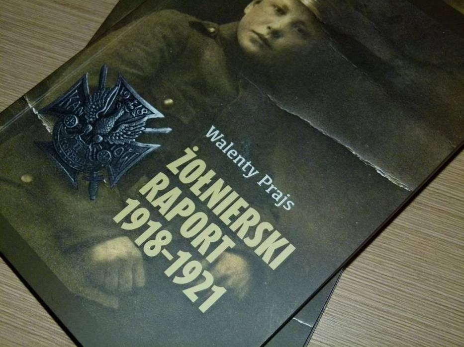 """""""Żołnierski raport 1918-1921"""" , czyli książkowe wspomnienia zduńskowolanina i sieradzanina. Promocja książki w Zduńskiej Woli"""