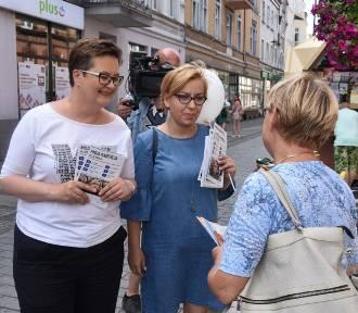 Września: Czyżby Paulina Hennig-Kloska z mandatem w ręku?