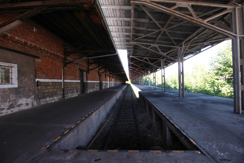 Teren dawnych magazynów kolejowych przy ul