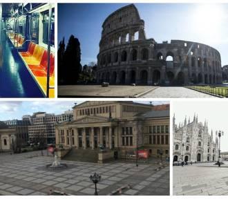 Koronawirus opustoszył największe miasta na świecie - zobacz zdjęcia!