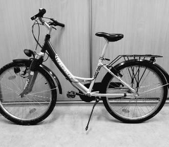 Czy ktoś rozpoznaje ten rower - policjanci proszą o informacje