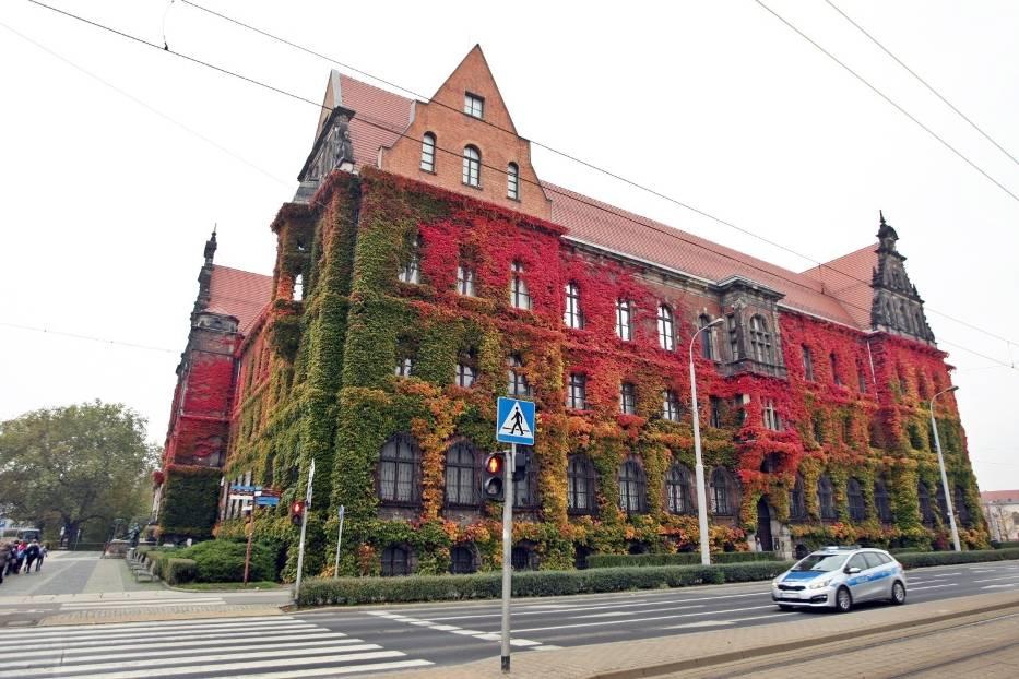 Jesień najlepiej widać na wrocławskim Muzeum Narodowym...