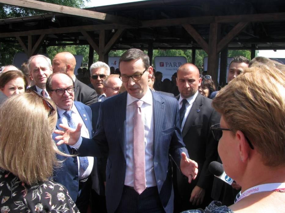 Premier Morawiecki w południowej Wielkopolsce