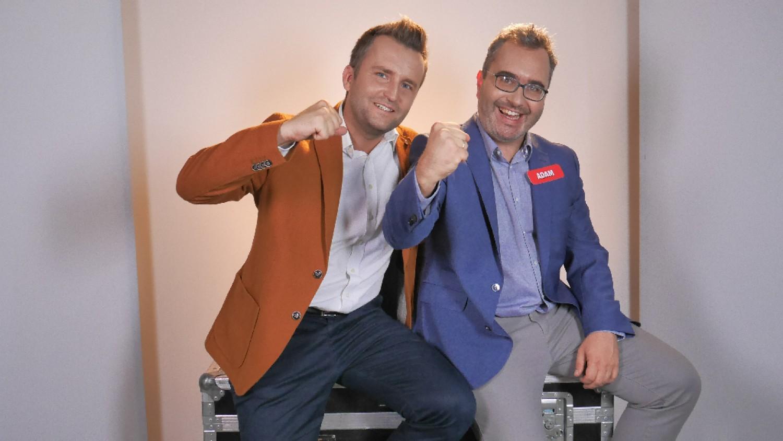 Adam Sterczewski i Maciej Cesarz