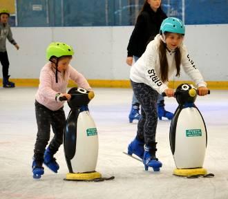 Pingwinki, piruety i akrobacje na lodzie. Icemania rozpoczęła sezon! Zobacz zdjęcia