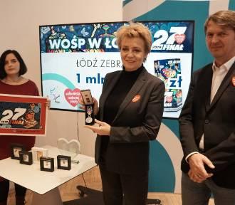 W Łodzi podczas finału WOŚP zebrano ponad milion złotych