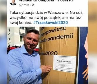 Poseł Waldemar Sługocki przeprasza za kontrowersyjne zdjęcie