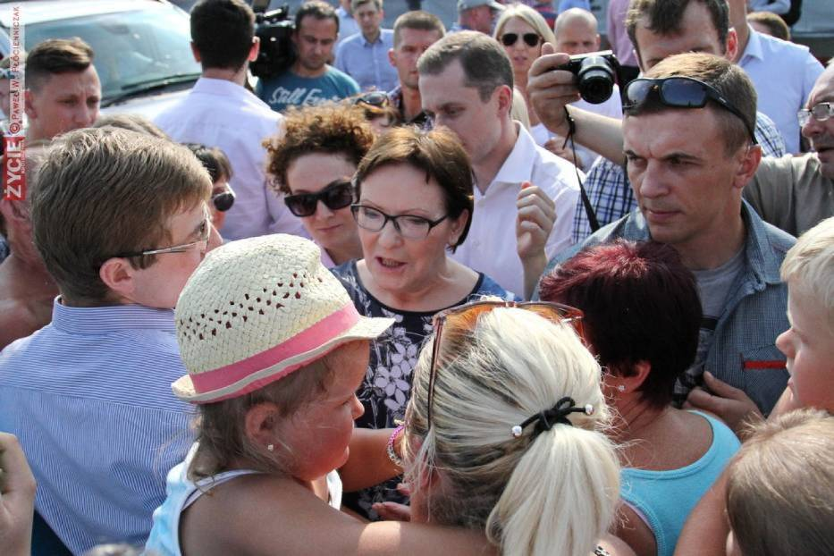 Premier Ewa Kopacz w Wielkopolsce