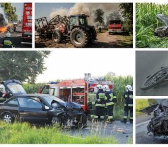 Ostatnio na drogach prawdziwa seria wypadków