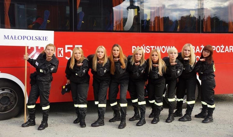 Najpiękniejsze polskie strażaczki. Zobaczcie ich zdjęcia!