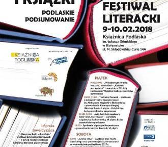 Literacki festiwal w Białymstoku