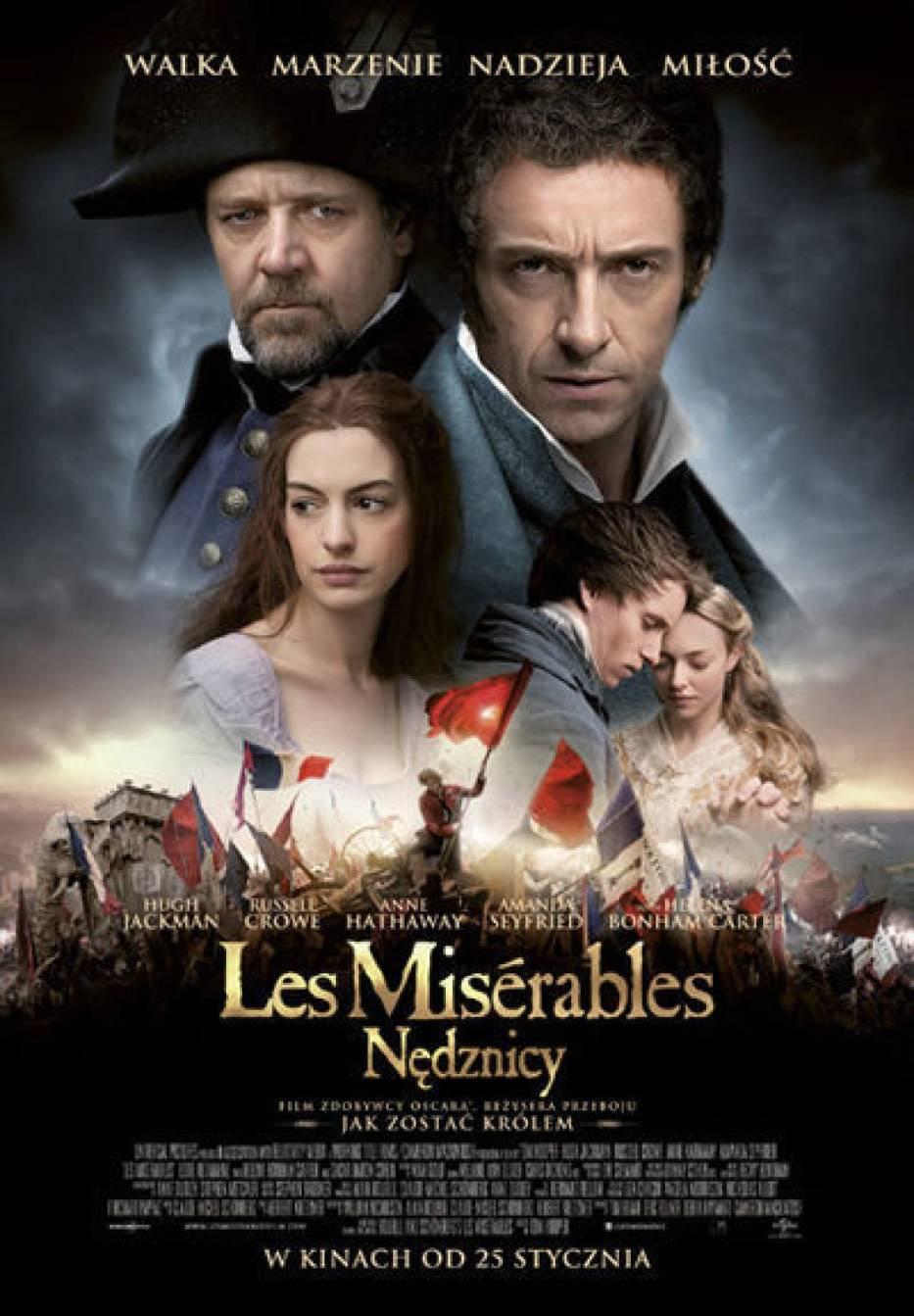 "Plakat filmu ""Les Miserables"""