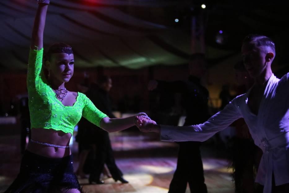 Mistrzostwa Polski w 10 Tańcach w Sosnowcu odbyły się w hali Zagórze