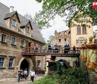 Otwarcie restauracji i bazy noclegowej w zamku Grodno (ZDJĘCIA)