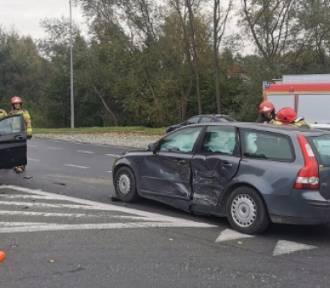 Wypadek na ul. Gdańskiej w Sławnie. Jedna osoba poszkodowana
