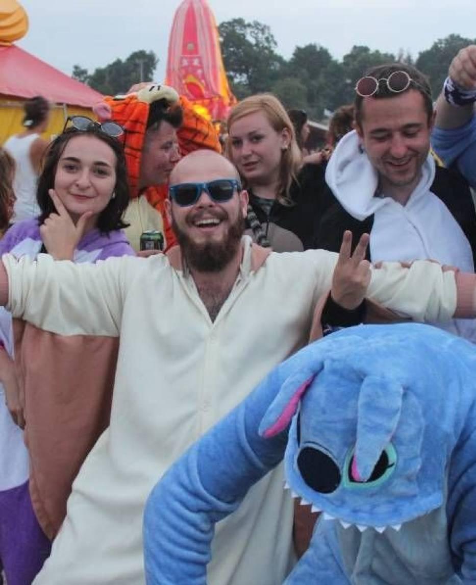 Woodstock 2017. Parada przebierańców