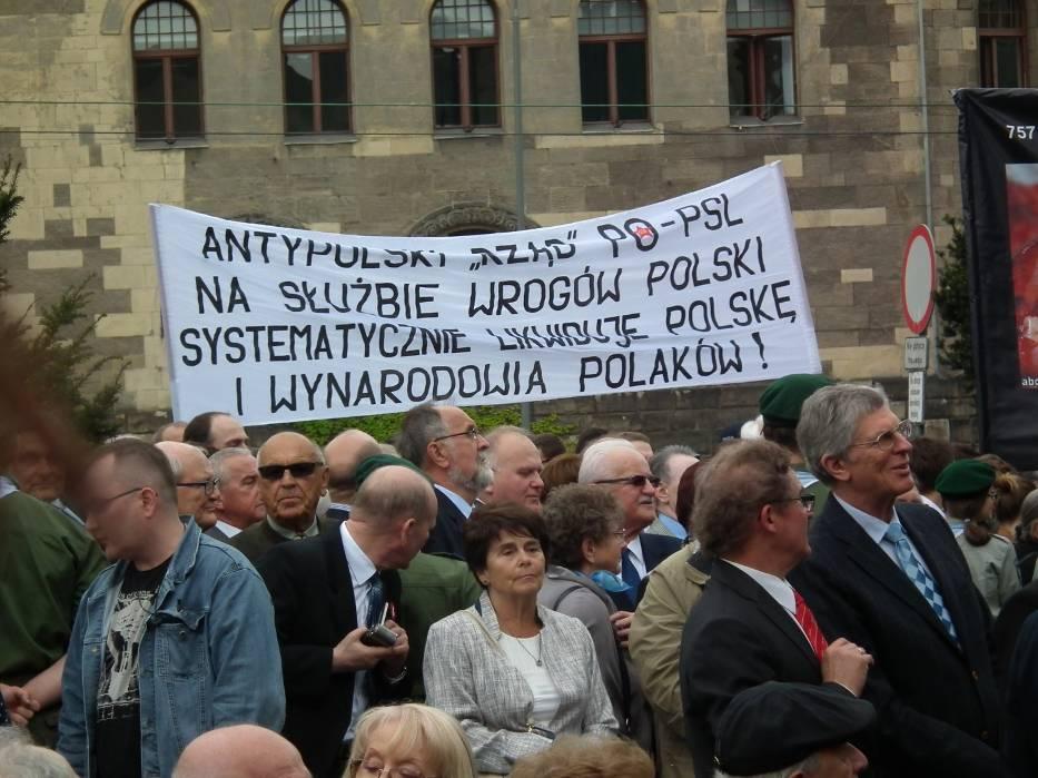 Bronisław Komorowski wygwizdany w Poznaniu