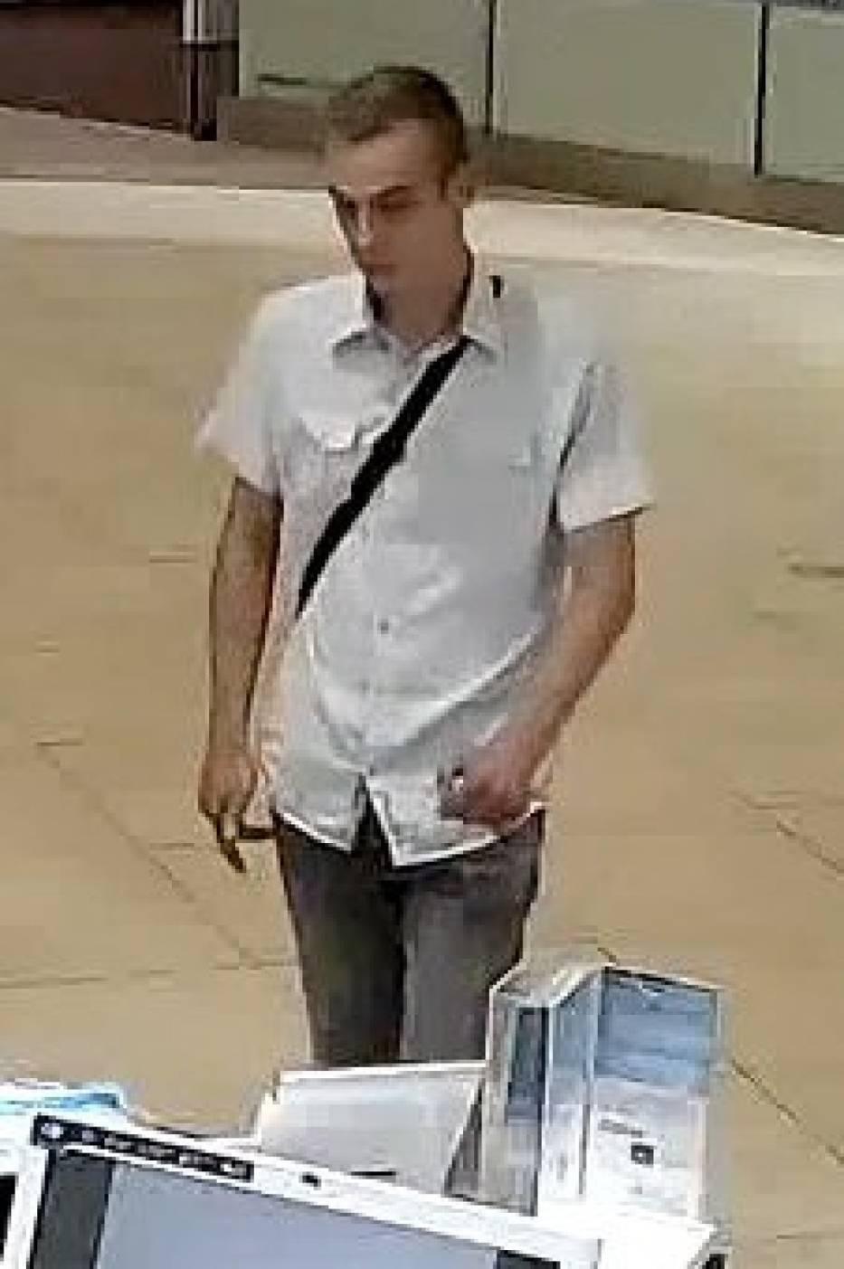 Policja prosi o pomoc w identyfikacji tego mężczyzny