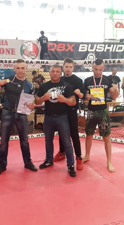 Krystian Kurzydlak i Szymon Broncel zdobyli złote medale na Pucharze Polski MMA [ZDJĘCIA]