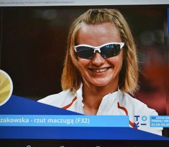 Róża Kozakowska, była zawodniczka IKS Start Zduńska Wola ze złotym medalem w Tokio