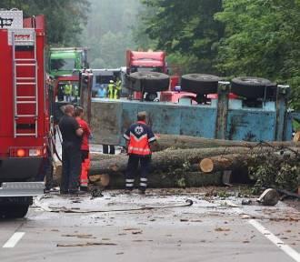 Chojnice-Czersk. Dwie ofiary wypadku na DK 22 [ZDJĘCIA, WIDEO]