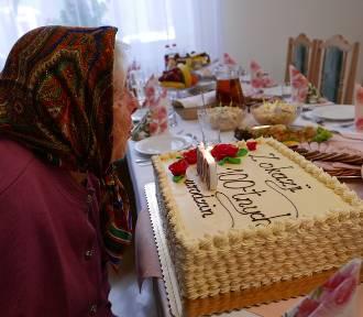 Pani Zofia Dębiec z Zalesia w gminie Miejsce Piastowe świętowała setne urodziny [ZDJĘCIA]