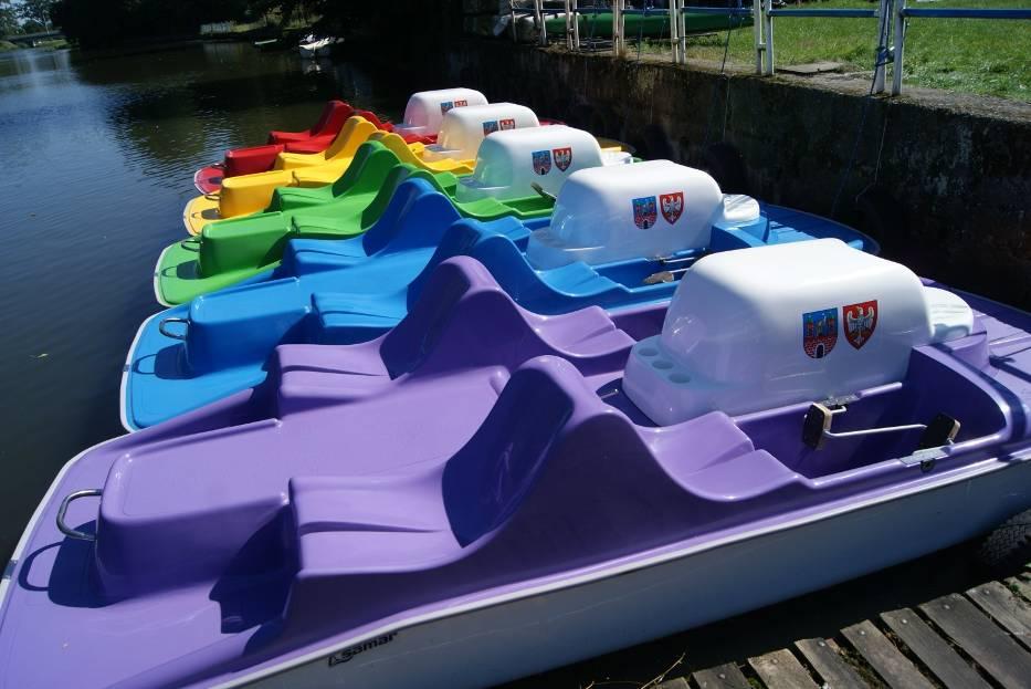 Rowery wodne w Kaliszu wreszcie zwodowane