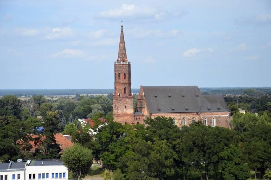 Trzy wieże w Głogowie. Zdjęcia z wież