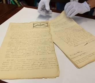 Zbiory Książnicy Podlaskiej powiększyły się o unikatowe dokumenty