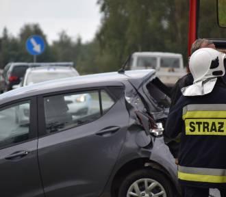 Groźny wypadek w Trzemesznie! Dwoje dzieci trafiło do szpitala