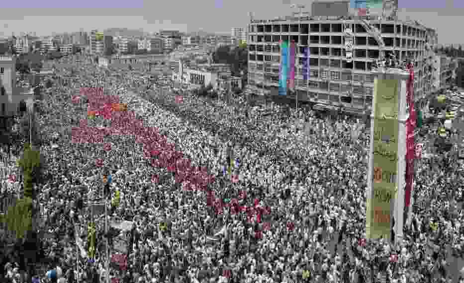 Protesty antyrządowe w Syrii 22 lipca br