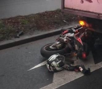 Groźny wypadek w centrum Inowrocławia