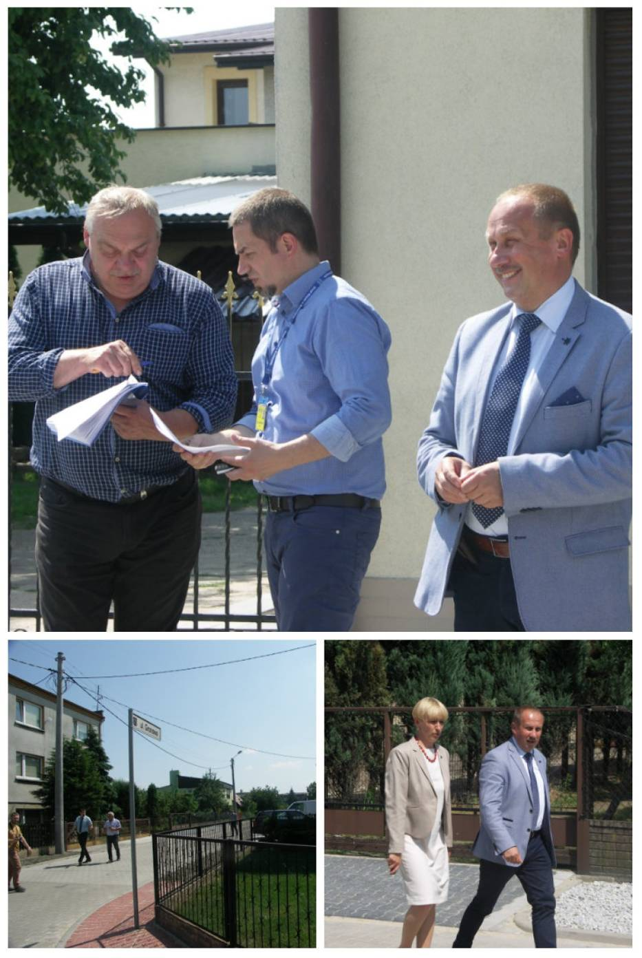 Otwarcie ul. Gronowej w Krotoszynie. Burmistrz zapowiedział dalsze inwestycje drogowe