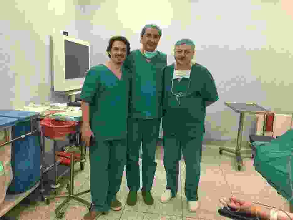Pionierska operacja w pleszewskim szpitalu