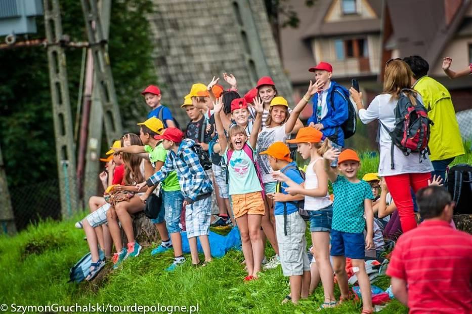 VI etap Tour de Pologne 2014 w Bukowinie Tatrzańskiej