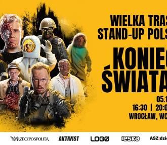 """IX Wielka Trasa Stand-up Polska """"Koniec Świata"""". KONKURS! Mamy dla Was bilety!"""