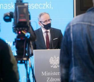 Minister zdrowia: Możliwy scenariusz - nawet 20-25 tys. zakażeń dziennie