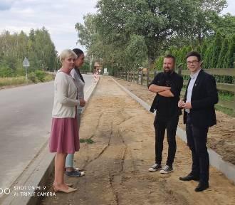 W Domasławicach powstanie nowa ścieżka pieszo-rowerowa