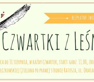 """""""Czwartki z Leśmianem"""" czyli zwiedzanie Zamościa trasą dedykowaną Bolesławowi Leśmianowi"""