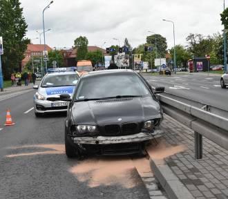 Wypadek na ulicy Żołnierzy II Armii Wojska Polskiego w Legnicy [ZDJĘCIA]