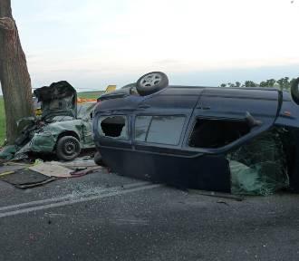 Groźny wypadek na drodze pod Lubinickiem (gm. Świebodzin) [ZDJĘCIA]