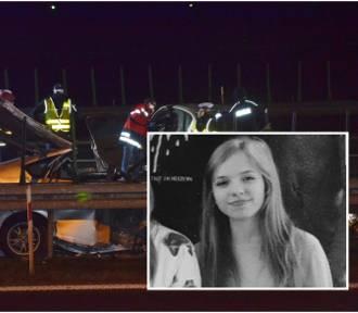Liceum żegna 22-letnią Hanię, swoją absolwentkę, która zginęła w wypadku na S3